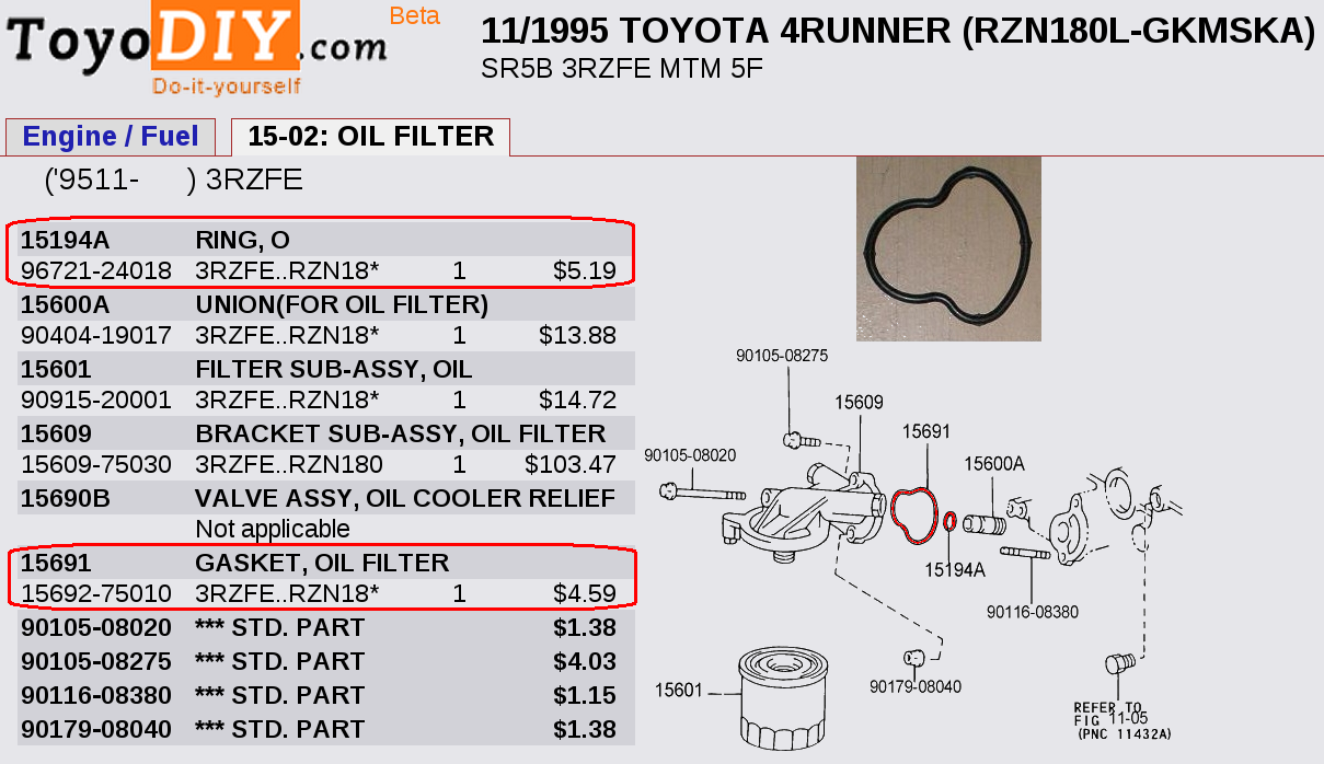best place to find part number exploded diagrams for 3rd gen t4rs on rh  toyota 4runner org toyota parts diagram for 2009 yaris toyota parts  diagrams corolla ...