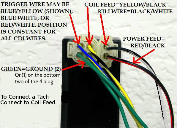 my cdi has both dc and ac wires connected  why