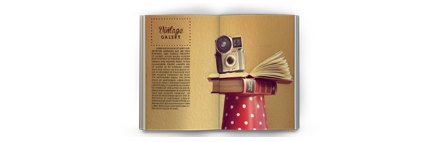 iPad & Tablet Vintage Magazine