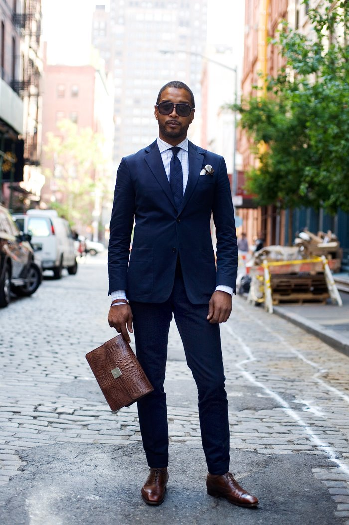 Black and Brown - Masculine Style
