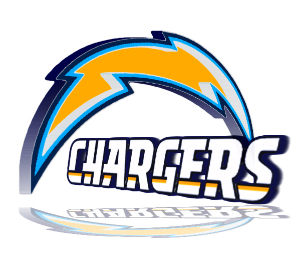 San Diego Chargers Chargers: AFC West 3D Logos