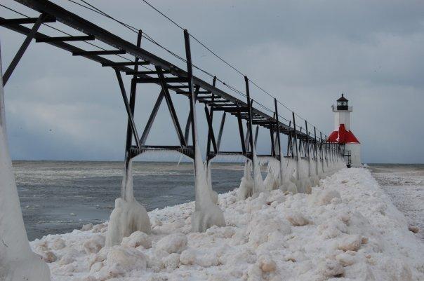 Snow Lake Effect Michigan - Gennaio 2010 4331218