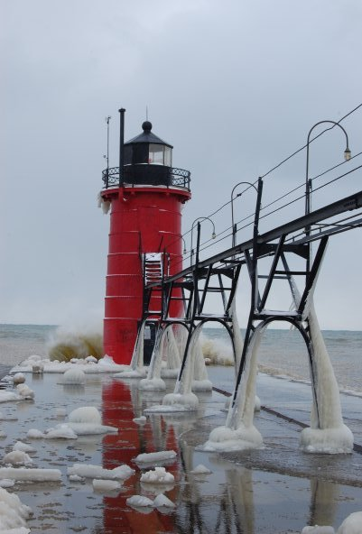 Snow Lake Effect Michigan - Gennaio 2010 4331223