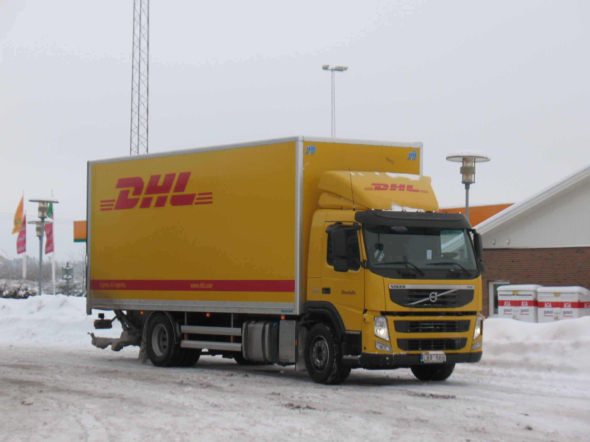 Volvo fm dhl jpg picture