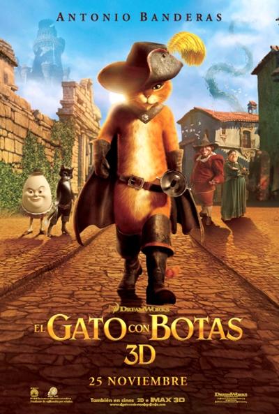 El Gato Con Botas [TS] [Español Latino] [2011]