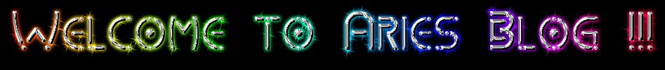 Aries Blog