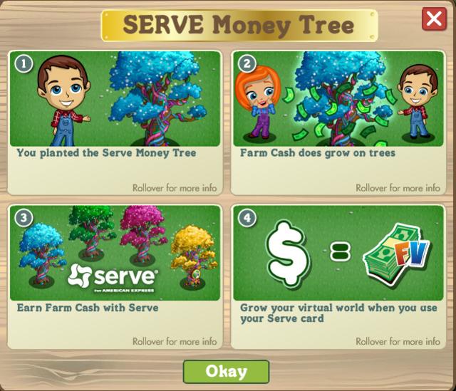 8321383 Harvest Farm Cash with Serve Money Tree!