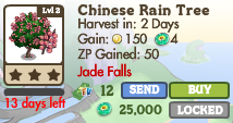 8420588 Jade Falls Trees: Dragon Boat, Kwanzan Cherry & More!