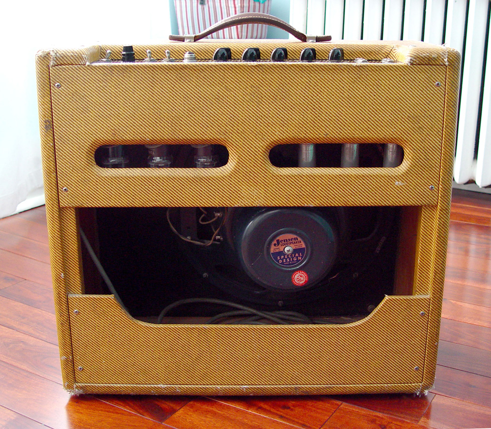 Fender Forums View Topic Todays Jam Amp The 1959 Pro 5e5a Bassman 5f6 Tweed Guitar Effect Schematic Diagram Amps Original Tubes Had A 12ax7 In V1 Instead Of 12ay7 V3 Tung Is Dated 60 0 That Makes Me Think Sat At For While
